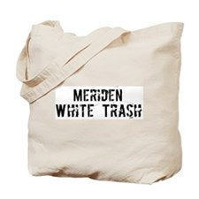 Meriden White Trash Tote Bag
