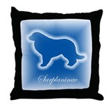 Sarplaninac  Throw Pillow