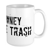 Downey White Trash Mug