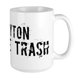 Dayton White Trash Mug