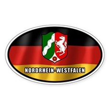 Nordrhein-Westfalen coat of arms (white letters)