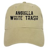 Anguilla White Trash Baseball Cap