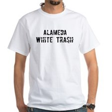 Alameda White Trash Shirt