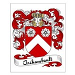 Archambault Family Crest Small Poster