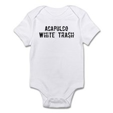 Acapulco White Trash Infant Bodysuit