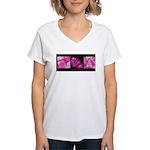 teething ring Women's V-Neck T-Shirt