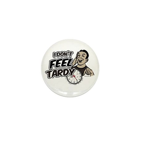Tardy Mini Button (10 pack)