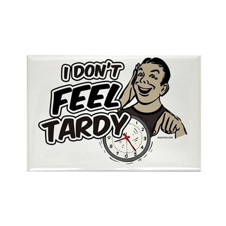 Tardy Rectangle Magnet (10 pack)