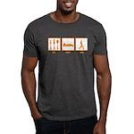 Eat Sleep Yoga Dark T-Shirt