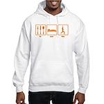 Eat Sleep Yoga Hooded Sweatshirt