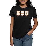 Eat Sleep Yoga Women's Dark T-Shirt