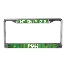 My Kid Puli License Plate Frame