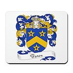 Baron Family Crest Mousepad