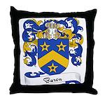 Baron Family Crest Throw Pillow