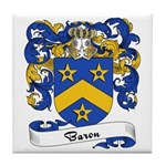 Baron Family Crest Tile Coaster