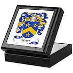 Baron Family Crest Keepsake Box