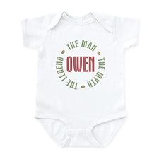 Owen Man Myth Legend Infant Bodysuit
