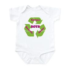 Unique Recycle men Infant Bodysuit