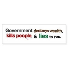 Government Strengths Bumper Sticker (10 pk)