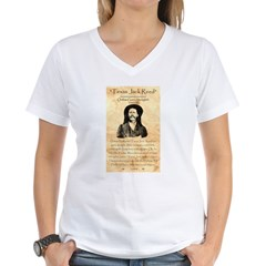 Texas Jack Women's V-Neck T-Shirt