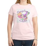 Fengcheng China Map Women's Light T-Shirt