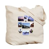 Light Houses of Maine Tote Bag