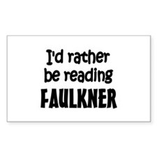 Faulkner Rectangle Sticker 10 pk)