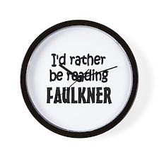 Faulkner Wall Clock