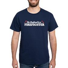 My Husband is a Firefighter T-Shirt