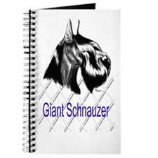 giant schnauzer head study Journal