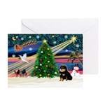 XmasMagic/Pom (bt) Greeting Card
