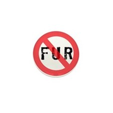 No Fur Mini Button (100 pack)
