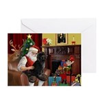 Santa's PWD Greeting Cards (Pk of 20)