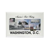 ABH Washington, D.C. Rectangle Magnet (10 pack)