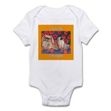 Pekingese Lover Infant Creeper