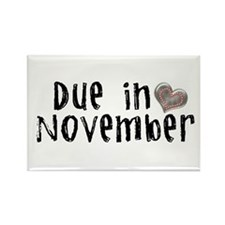 November Rectangle Magnet