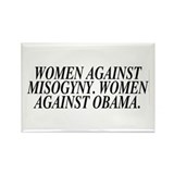 Women against Obama (rectangular magnet)