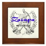 Zacapa Framed Tile