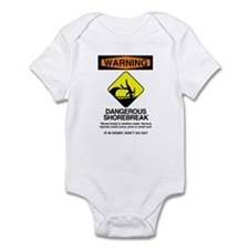 Dangerous Shorebreak Infant Bodysuit