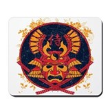 Samurai Stamp Mousepad