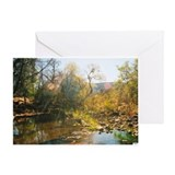 Unique Rivers and creeks Greeting Card