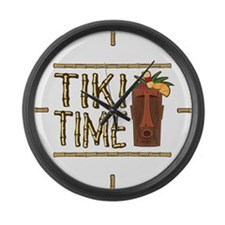 Tiki Time - Giant Clock