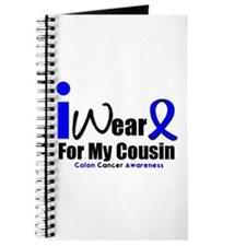 I Wear Blue For My Cousin Journal