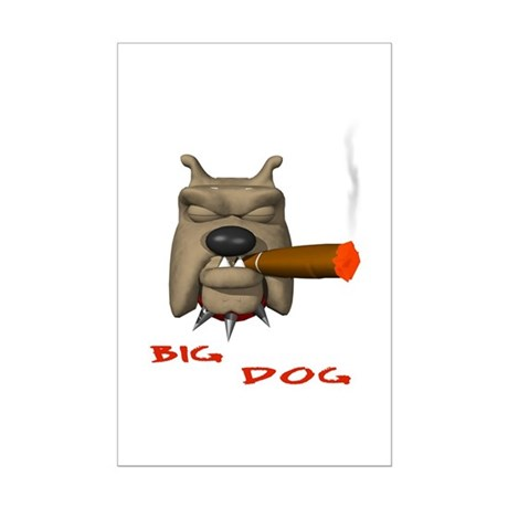 BIG DOG Mini Poster Print