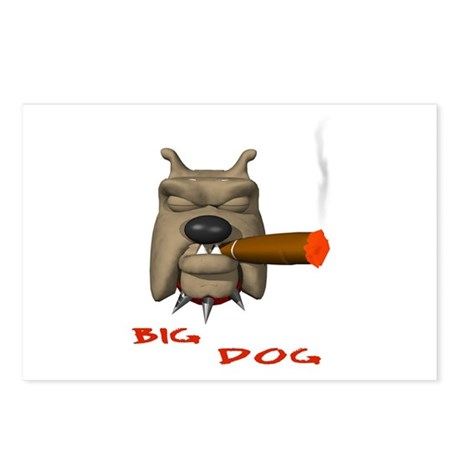 BIG DOG Postcards (Package of 8)