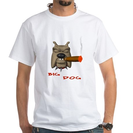 BIG DOG White T-Shirt