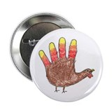 Hand Turkey Button