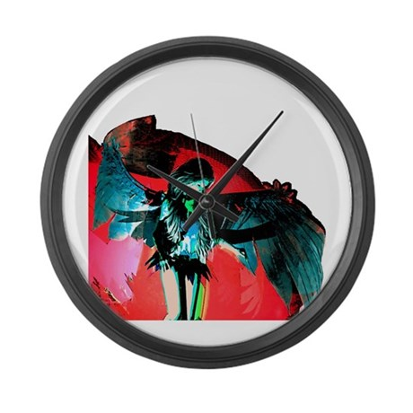 Angel Art Giant Clock