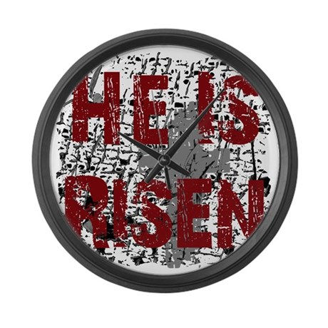 He is Risen Giant Clock