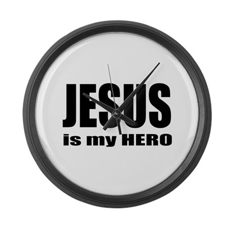 Jesus is Hero Giant Clock